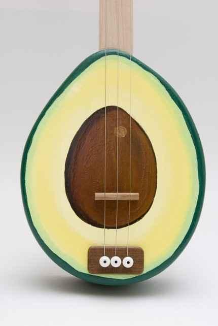 Fundstueck: Avocado Gitarre