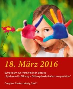 Frühkindliche Bildung Symposium Leipzig
