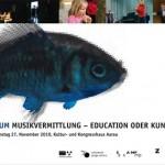 Symposium zum Thema Musikvermittlung Ende November