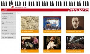 Petruschka - die Website
