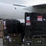Gut verpackt: Instrumente auf de Weg nach Kabul
