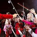 Je-Ki Kinder während eines Konzerts