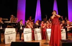 In Innsbruck zum Harmonika-Festival dabei: Das Orchester Hohnerklang